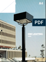 Kim Lighting Type 5 Brochure 1979