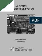 Axf User Manual