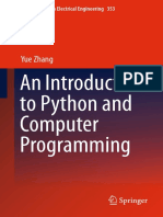 An Introduction for Python