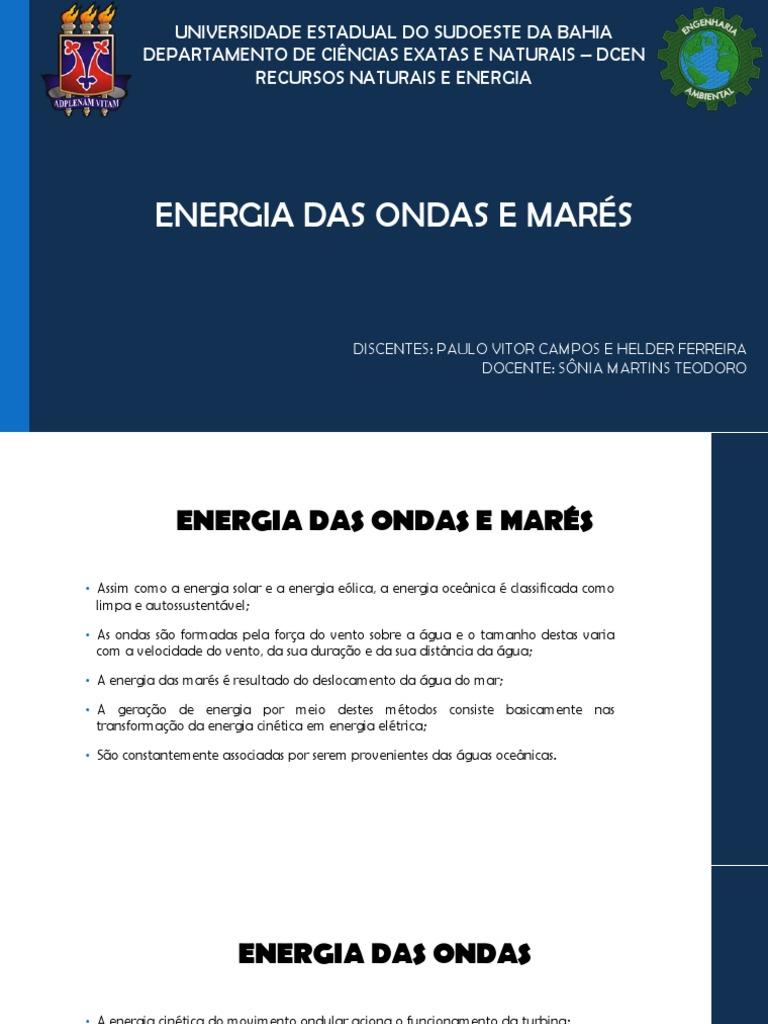 3dc509f1ef7 Energia Das Ondas e Marés