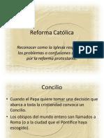 reforma catolica .ppt