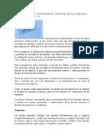 4.1 Fuetnes Internas y Externas de Datos