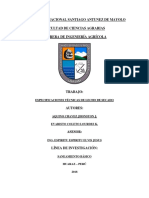 Especificaciones Tecnicas de Lecho de Secado