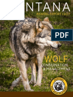 2017 Montana Gray Wolf Program Annual Report