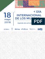 Agenda Dim Actividades 2018 - Icom Ecuador