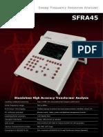 High Quality SFRA45 Brochure New