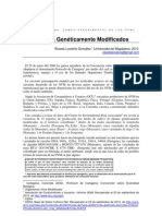 Organismos Geneticamente Modificados en America Latina