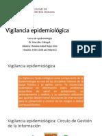 Vigilacia Epidemiologica