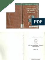 Los Paradigmas de Analisis Sociologico UNC Advocatus Cordoba 2000 Carlos Lista