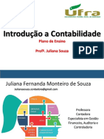 Contabilidade Introdutoria - Juliana Souza - UFRA