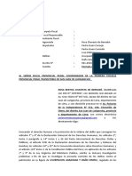 LEGIS.pe Modelo de Denuncia Por Usurpacion y Daños NCPP