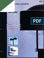 Kim Lighting VL Vertical Lamp Brochure 1992