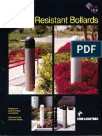 Kim Lighting VRB Series Vandal Resistant Bollard Brochure 1993