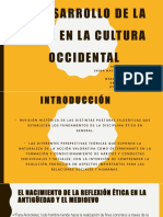El Desarrollo de La Ética en La Cultura Occidental