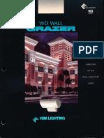 Kim Lighting Wall Director Wall Grazer Optics Brochure 1996