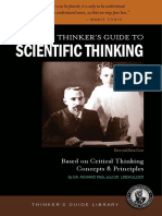 The Thinker's Guide to Critical Thinking