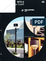 Kim Lighting WTC Wide Throw Cutoff Brochure 1984