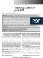 1.- Effort–Reward Imbalance and Burnout Among ICU Nursing Staff a Cross-Sectional Study