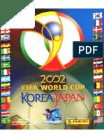 Album Da Copa 2002
