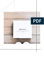 Buying and Merchandising  Range Development Whistles