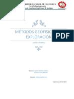 Metdos Geofisicos de Exploracion