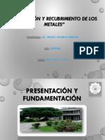 1 -Corrosión y Recubrimientos de Metales 2018