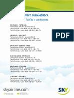 Condiciones Vive Sudamerica