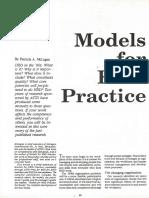 Models for HRD Practice McLagan
