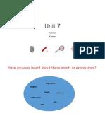 Unit 7 - Lesson 1