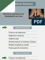 Esclerosis Sistémica, Metodo Diagnostico, Actuallizacion en El Tratamiento-Ultimo-12032018