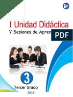 1ra Unidad Didactica- 3ro - 2018