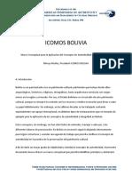 Marco Conceptual Para La Aplicacion Del Concepto de Autenticidad en La Restauracion