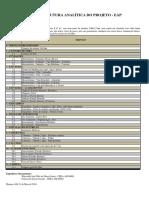 Planilha de Orçamento Analitico