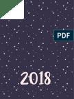 Estrella Agenda 2018 RELOJ