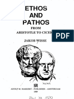 [Jakob Wisse] Ethos and Pathos From Aristotle TO CICERON