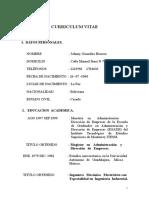 Curriculum Vitae Académico