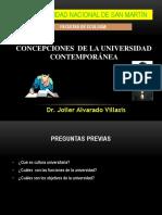 1Concepciones de La Universidad Contemporánea