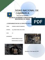 Contaminacion en Minas de Carbon