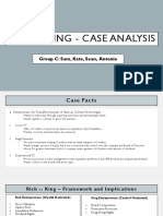 Rich vs King Case Analysis - Group C