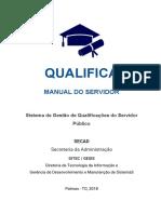 QUALIFICA - Manual Do Servidor