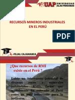 1.0 Recursos Mineros Industriales en El Peru