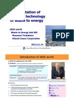 Japan Technology WTE