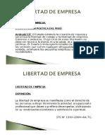 Diapositivas Libertad de Empresa