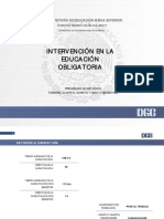 Intervencion en La Educacion Obligatoria