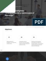 Clase 2 - Nuestros Paradigmas Transformación y cambio para el liderazgo.pdf