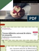 Infarto Agudo Al Miocardio - Dr Eduardo Salgado Leon