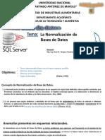 2_Clase Magistral_Normalización de Bases de Datos