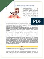 Odontopediatria a Nivel Internacional