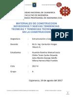 Informe Final de Estruccturación y Cargas