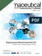 Biopharmaceutical - Biopharm Manufacturing